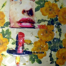 Thanks for the Mammaries 1995 paper collage