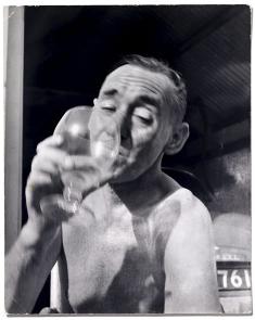 John Deakin photographed by Daniel Farson in the 1960s
